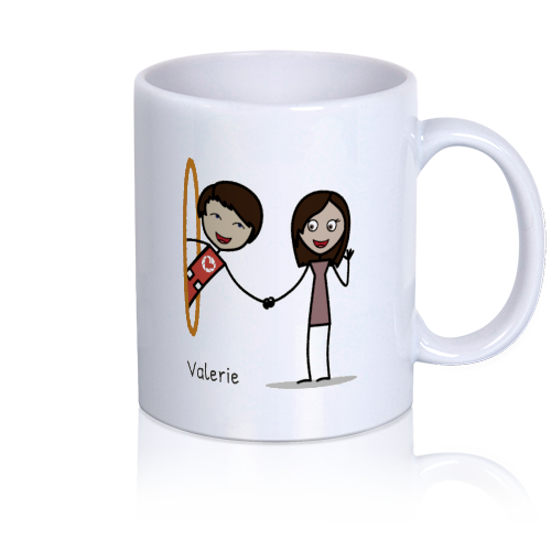 LoveCoups.com | Nothing Can Keep Me From You - Personalized 11 oz. Premium Mug - $16.95