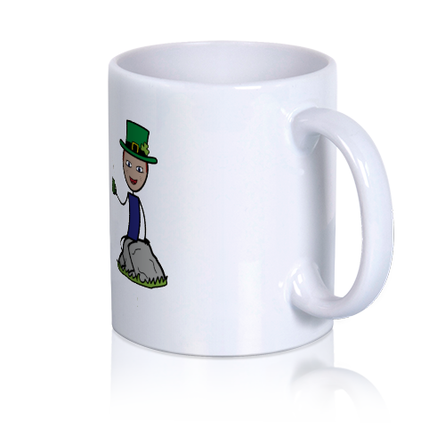 LoveCoups.com | Irish Coffee - Personalized 11 oz. Premium Mug - $16.95