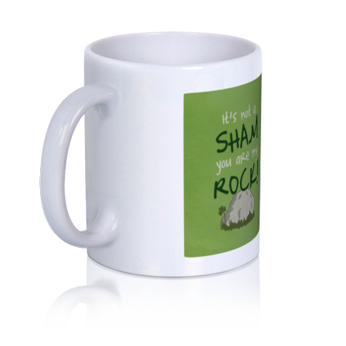 LoveCoups.com | You Rock! - Personalized 11 oz. Premium Mug - $16.95