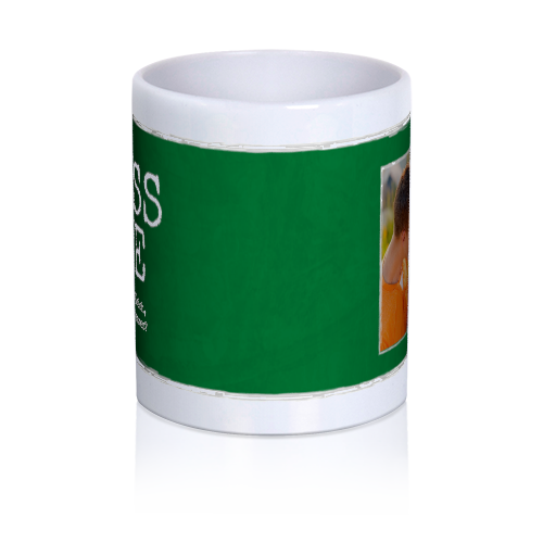 Picbound.com | Kiss Me...I'm Not Irish But Who Cares? - Personalized 11 oz. Premium Mug - $16.95